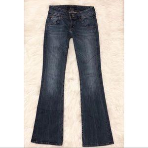 Hudson 2 Button Signature Bootcut Jeans Size 24